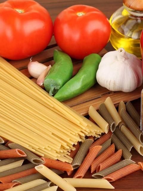 картинка блюда из макарон