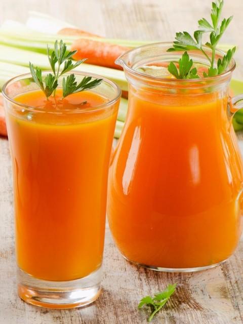 картинка морковный сок