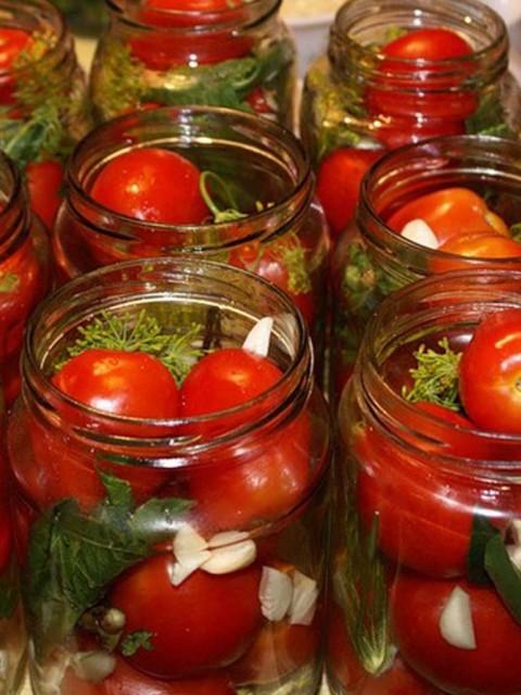 картинка консервирование помидоров