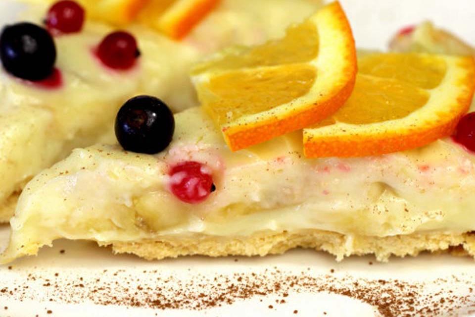 картинка банановый торт